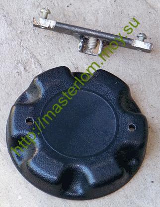 Ручка регулятора наклона спинки сидения с железкой-приводом, после ремонта