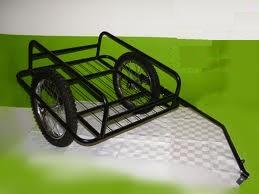 Прицеп для велосипеда грузовой