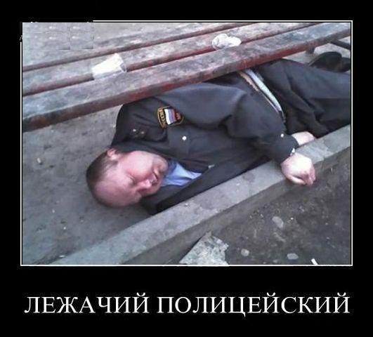Лежачий полицейский - тренировка к Евро 2012