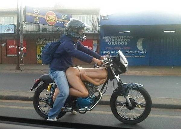 Мотоцикл от любимой