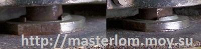 Безопасная смена диска угловой шлифовальной машины - болгарки