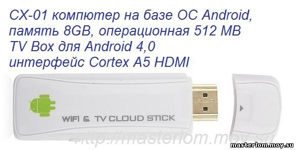 CX-01 мини Android TV Box