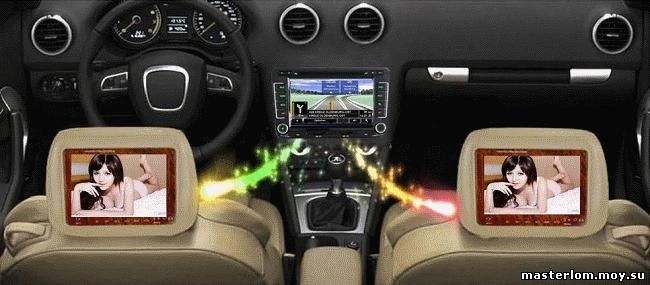 Зоны акустики в автомобиле