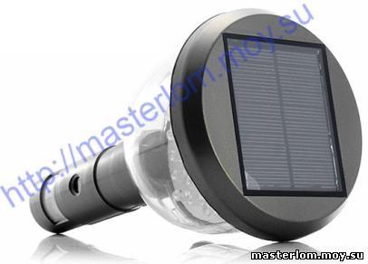 Камера с подзарядкой от солнечной батареи.