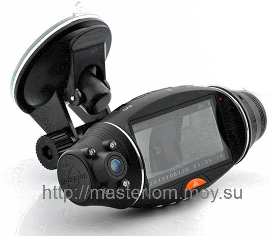Авто регистратор с GPS навигатором