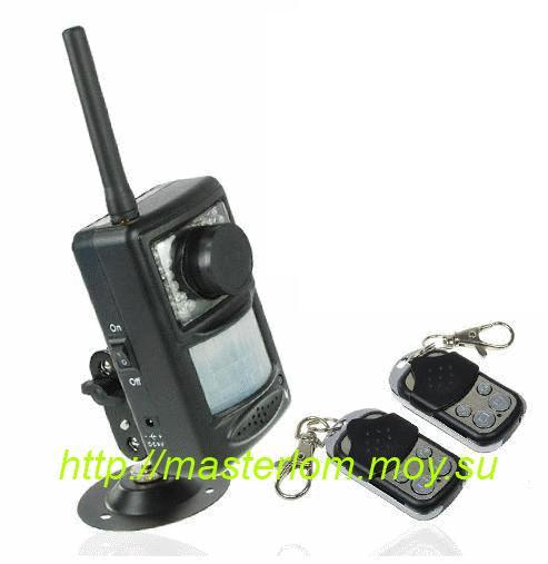 Охранное устройство GSM MMS SMS с пультом управления