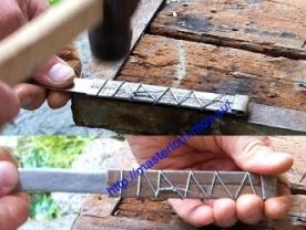 Ручна для ножа из железа