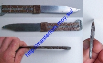 Ремонт ножа своими руками