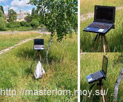 Подставка для ноутбука tripod