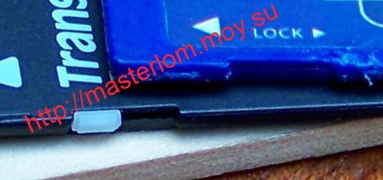 SD карта памяти - сломалась