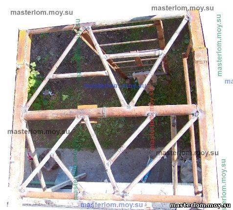 Балкон из труб