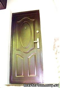 установка двери в стену из пеноблока
