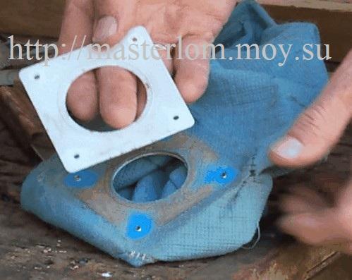 Разборка пылесборника, ремонт пылесоса