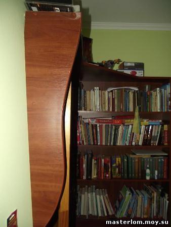 Книжный шкаф своими руками