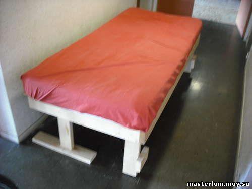 Кровать / топчан своими руками