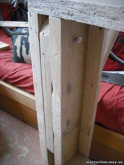 Конструкция ножки кровати