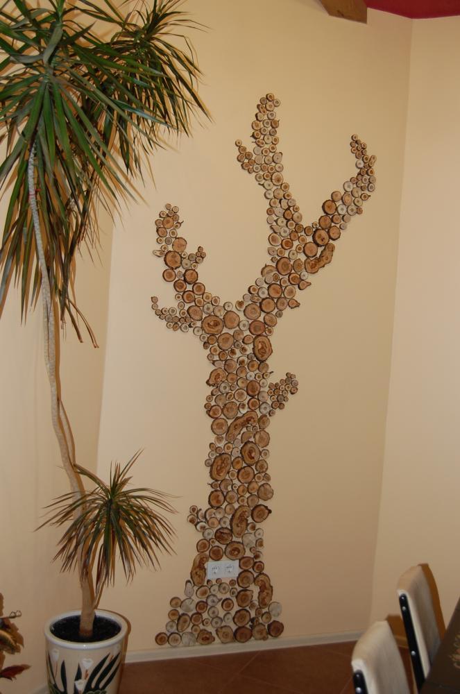 Как Как сделать на стене дерево своими