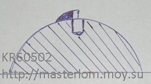 штамповка барабана корморезки - матрица