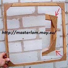 Как сделать рамку окну