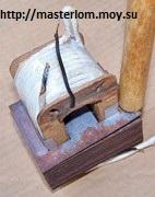 Осаживание пластины ручкой молотка